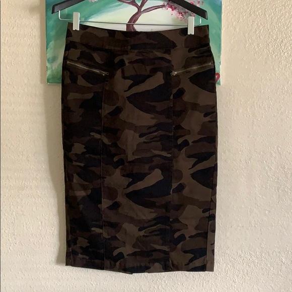 New York & Company Dresses & Skirts - Camo Skirt